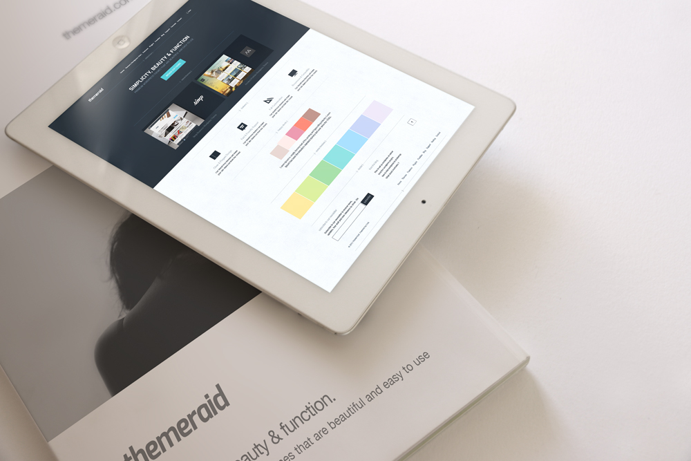 Free iPad & Magazine Mockup
