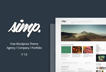 Simp Wordpress Theme