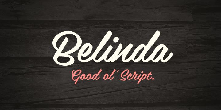 Belinda Free Script Font