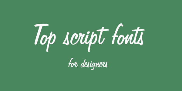 Script Fonts Download