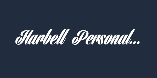 Harbell Personal free font