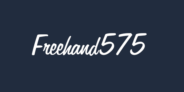 Freehand575 Free font