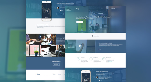 Boxify Free Website Template