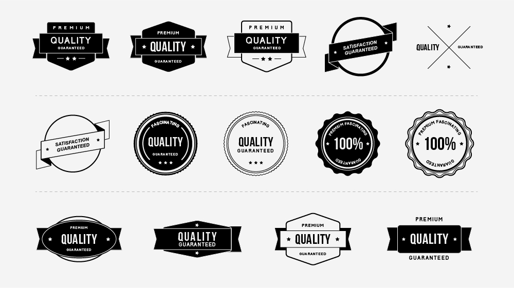 Free Quality Badges