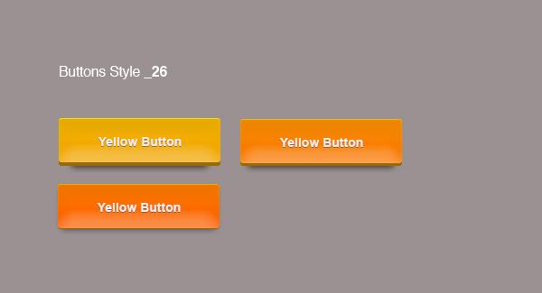 Orange Buttons 3d