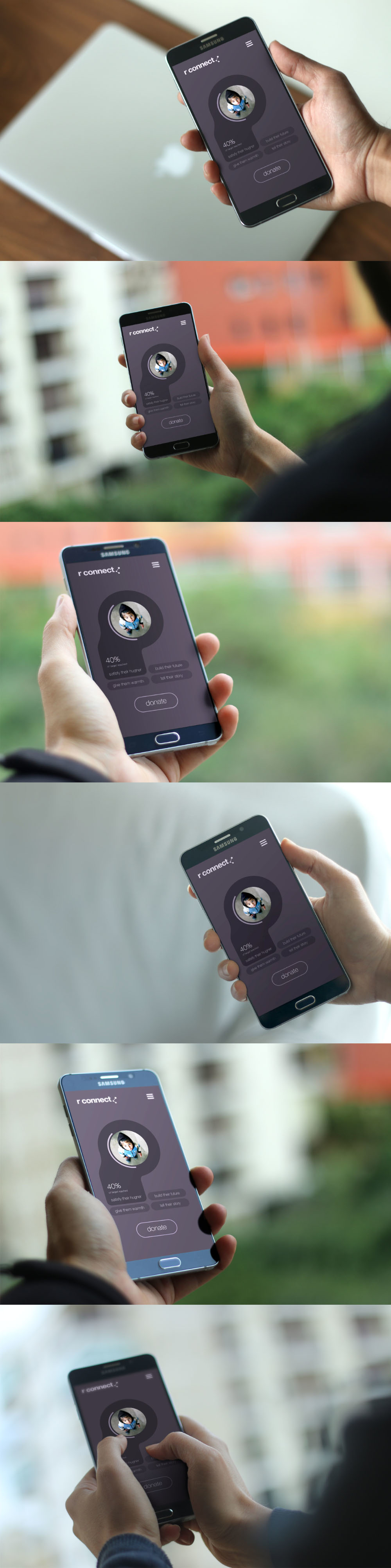 Android App Device Mockup