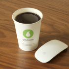 Nescafe cup mockup