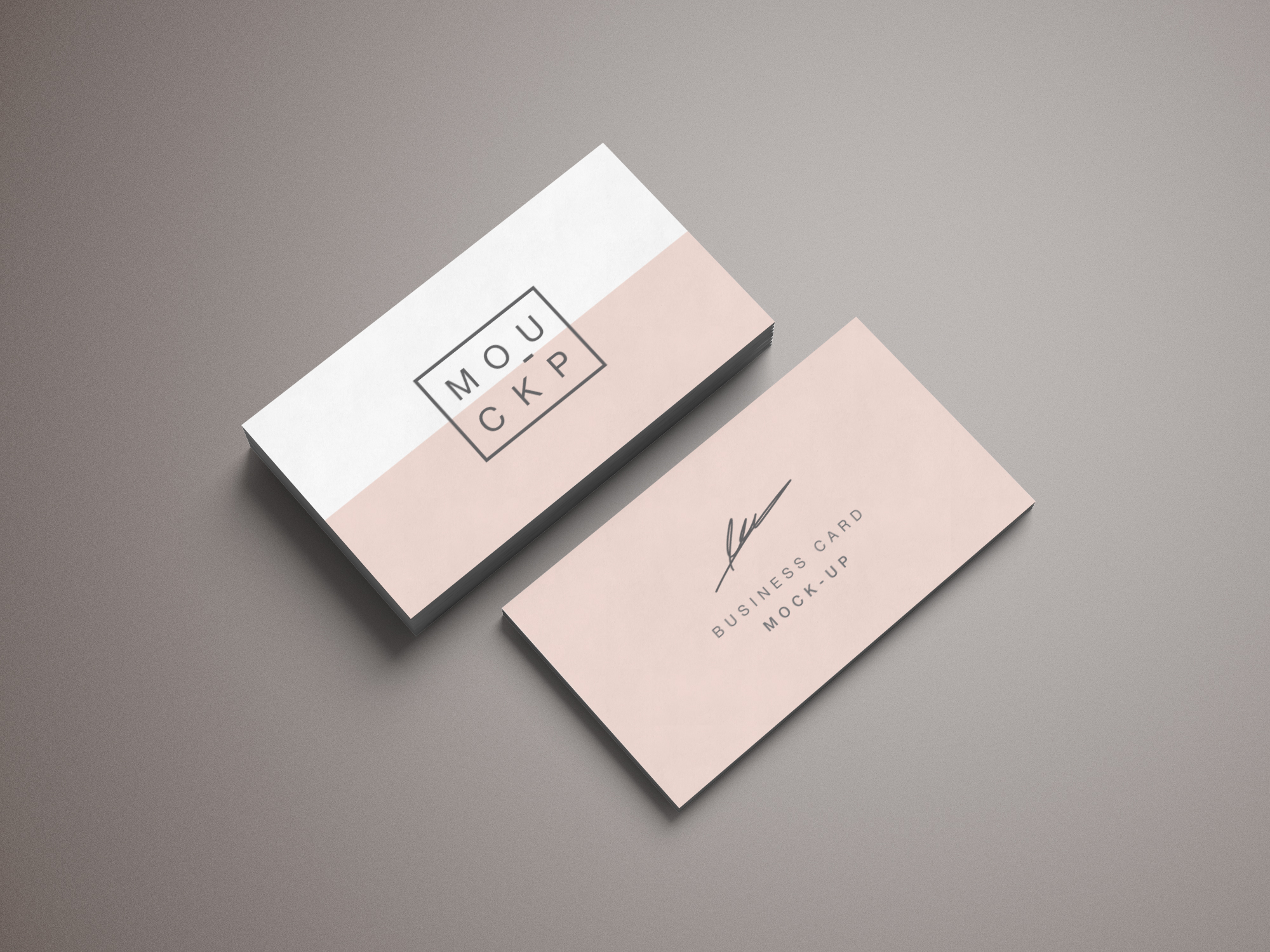 Stationery - Business Card Mockup