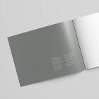 Landscape Letter Brochure mockup