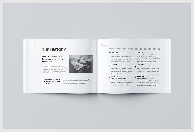 business brochure print template